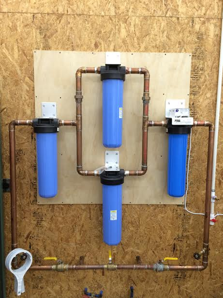 Pure Water Gazette 187 Multi Filter Installations Provide