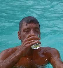 drinkingpoolwater